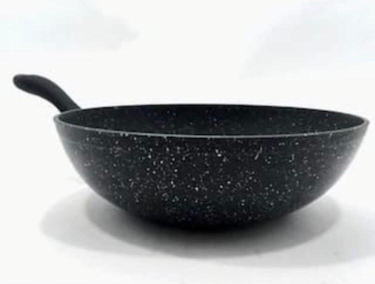 28 cm Granite Wok Pan