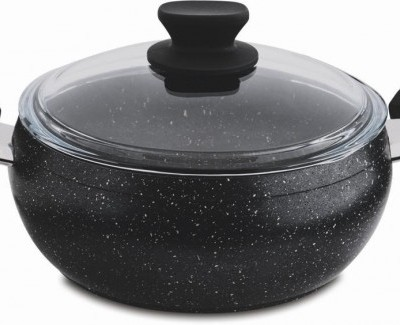 24 cm Granite Deep Cooking Pot
